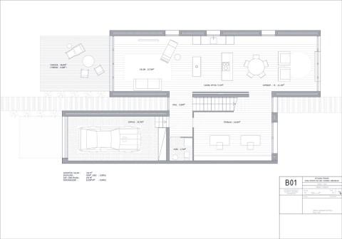 reforma integral llaves en mano en Plaza de los Sitios de Zaragoza por el estudio de arquitectura y diseño interiores A54insitu