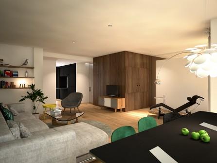 reforma integral llaves en mano estudio de arquitectura A54insitu en zona Aljafería realizada por el estudio de arquitectura y diseño interiores estudio de arquitectos A54insitu_