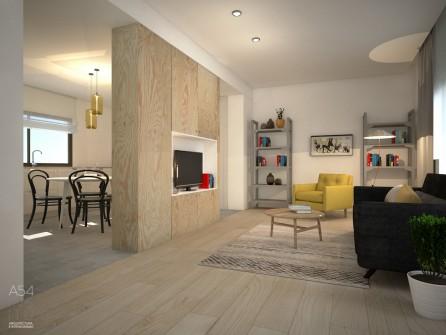 reforma integral de una vivienda en Zaragoza por A54insitu