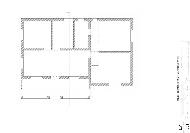 Arquitecto y estudio de arquitectura especializado en proyectos de arquitectura e interiorismo, reformas y obra nueva, transformacion de espacios en viviendas o negocios desde zaragoza. Transformación completa, antes y después, reforma rehabilitación de una vivienda en Mozota, Zaragoza
