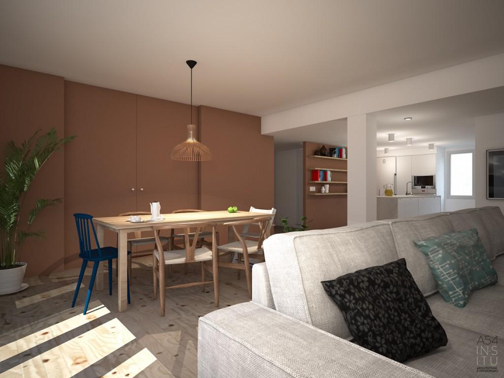 Reforma integral de una vivienda en el edificio kasan zaragoza a54insitu - Estudio arquitectura zaragoza ...