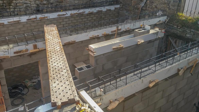 obra proceso de rehabilitación de una vivienda en Acumuer realizada por el estudio de arquitectura diseño e interiorismo A54insitu ubicado en Las Armas Zaragoza