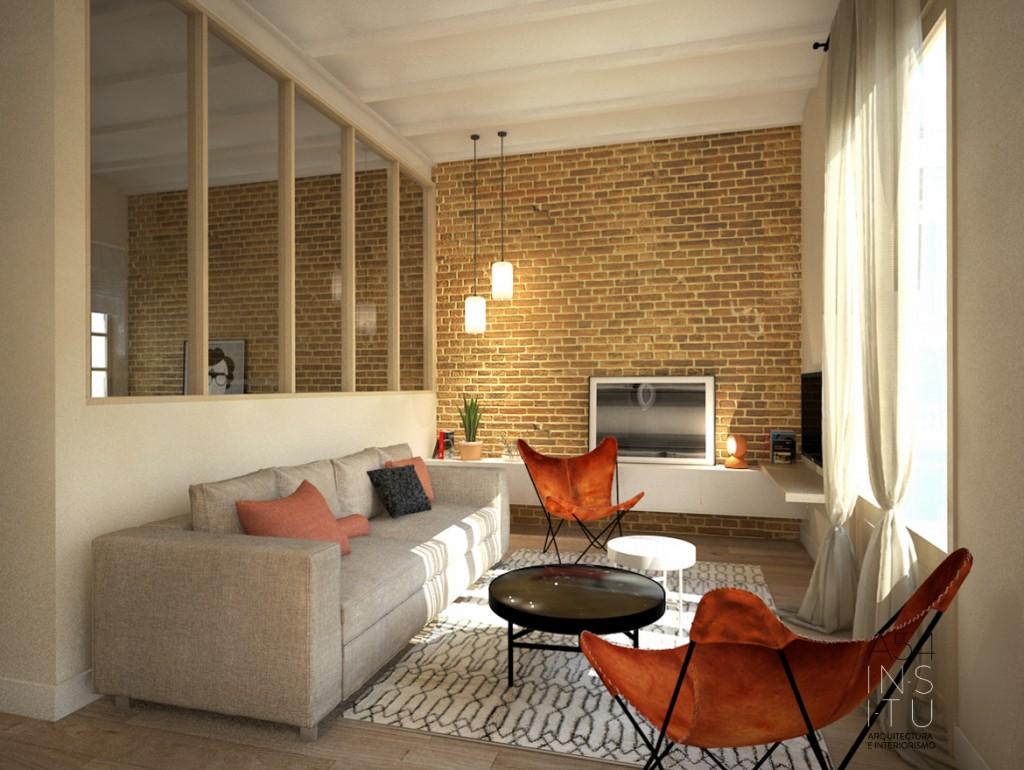 Reforma de vivienda en l eixample barcelona a54insitu for Interiores de viviendas