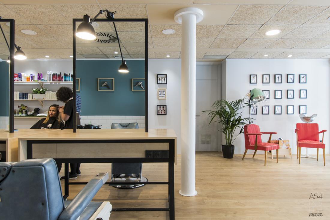 proyecto de reforma integral e interiorismo de una vivienda en Zaragoza realizado por el estudio de arquitectura diseño e interiorismo A54insitu ubicado en Las Armas Zaragoza