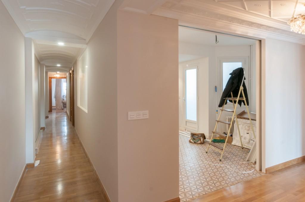 Restyling de una vivienda en c conde aranda zaragoza - Interiorismo zaragoza ...