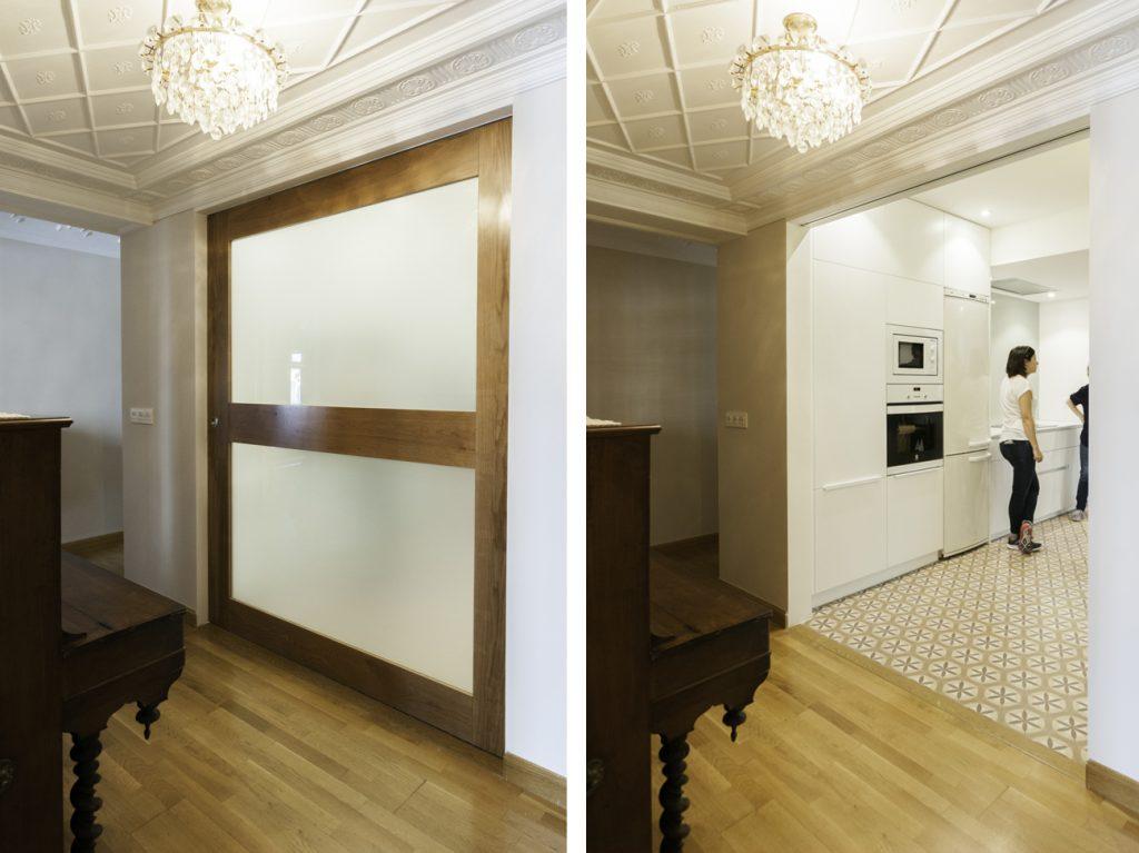 Restyling de una vivienda en c conde aranda zaragoza for Vivienda interior