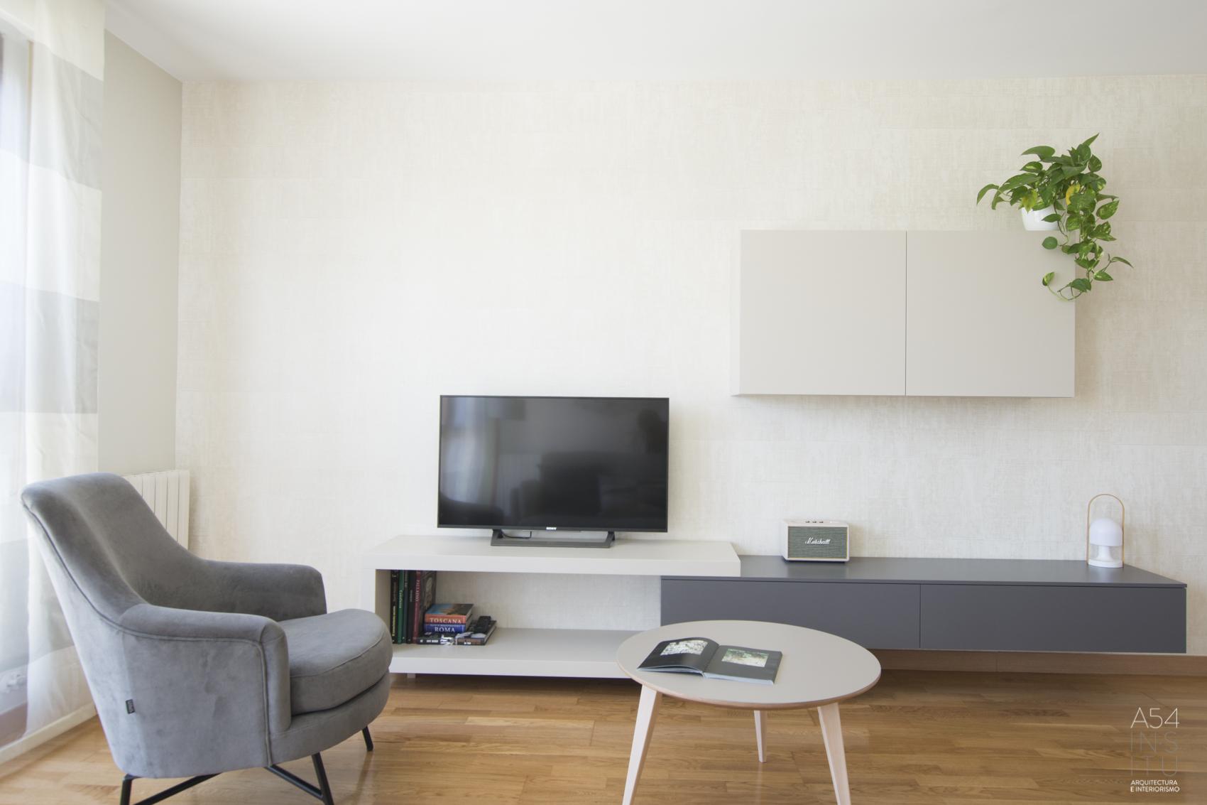 proyecto de reforma parcial y restyling de interiores para una vivienda en el barrio del Gancho de Zaragoza realizado por el estudio de arquitectura diseño e interiorismo A54insitu ubicado en Las Armas Zaragoza