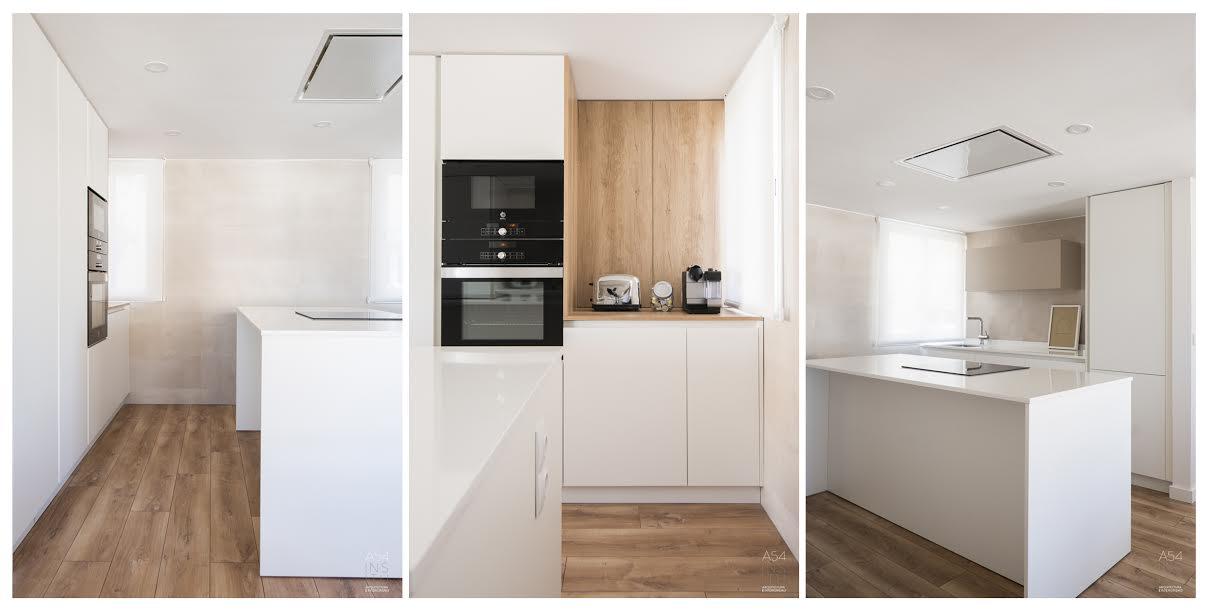 proyecto de arquitectura y diseño de interiores para una reforma integralde una vivienda en Zaragoza por el estudio de arquitectura e interiores A54insitu situado en Las Armas