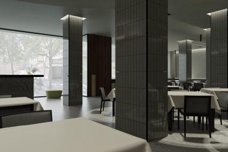 reforma de interiores para la academia de inglés Camden en el centro de Zaragoza por A54insitu