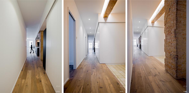 proyecto de reforma integral de interiores de una vivienda en Zaragoza realizado por el estudio de arquitectura diseño e interiorismo A54insitu ubicado en Las Armas Zaragoza