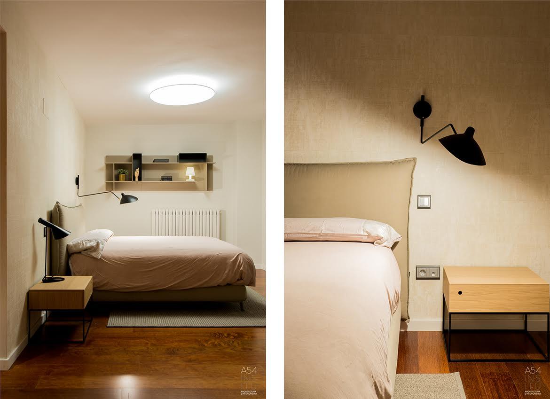 proyecto de reforma integral de interiores de una vivienda en Zaragoza realizado por el estudio de arquitectura y diseño e interiorismo A54insitu ubicado en Las Armas Zaragoza