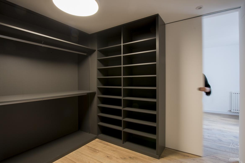 proyecto de reforma integral de interiores de una vivienda en Zaragoza realizado por el estudio de arquitectura y diseño e interiorismo A54insitu ubicado Zaragoza