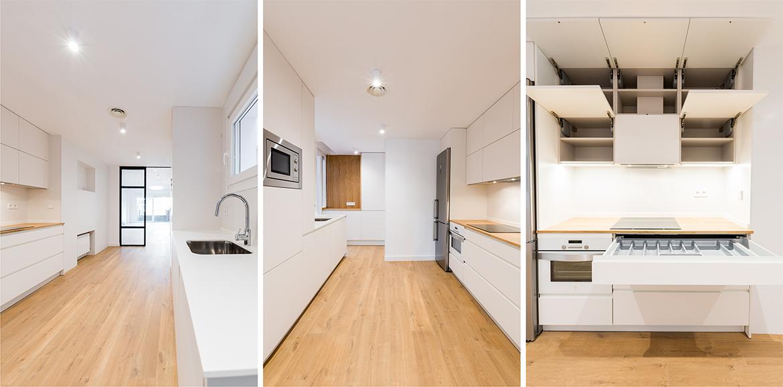 proyecto de reforma integral de interiores de una vivienda en Zaragoza realizado por el estudio de arquitectura y diseño de interiores A54insitu
