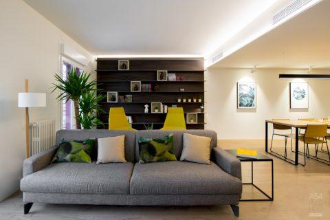 reforma integral llaves en mano de una vivienda en Conde Aranda Zaragoza por A54insitu