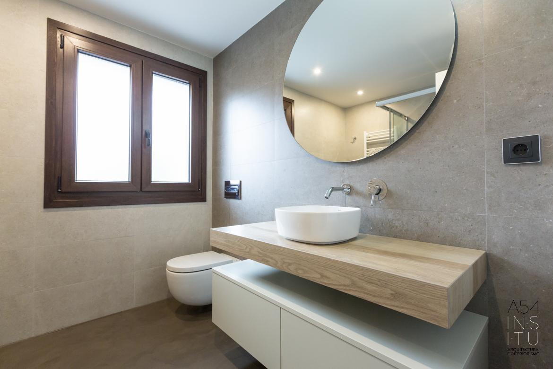 proyecto de arquitectura e interiores de un caserío en Bizkaia realizado por el estudio de arquitectura y diseño de interiores A54insitu