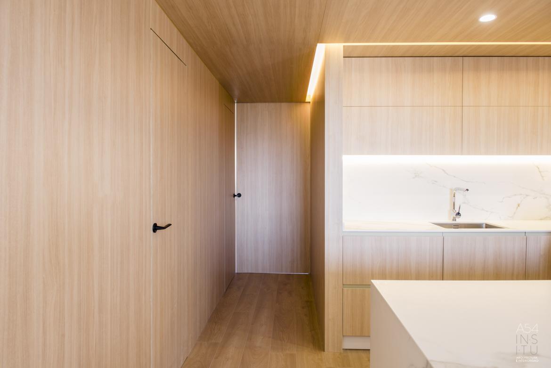 proyecto de arquitectura e interiores para reforma integral llaves en mano de una vivienda en Zaragoza realizado por el estudio de arquitectura y diseño de interiores A54insitu