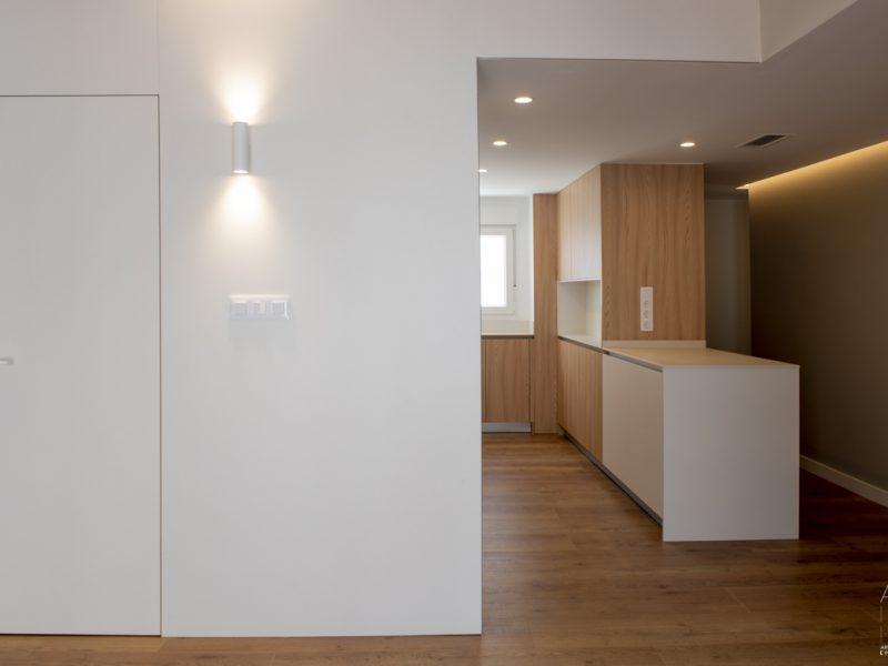 Reforma de una vivienda en el centro de Zaragoza