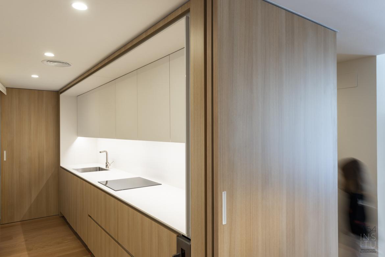reforma integral de vivienda en Paseo Ruiseñores llaves en mano A54insitu arquitectura y diseño zaragoza