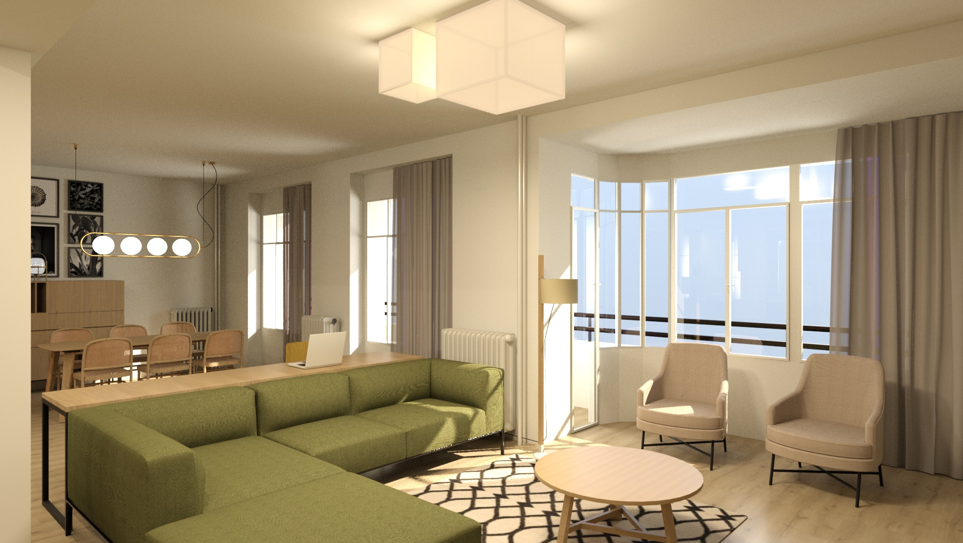 se vende reforma integral de vivienda en Plaza San Francisco laves en mano A54insitu arquitectura y diseño zaragoza