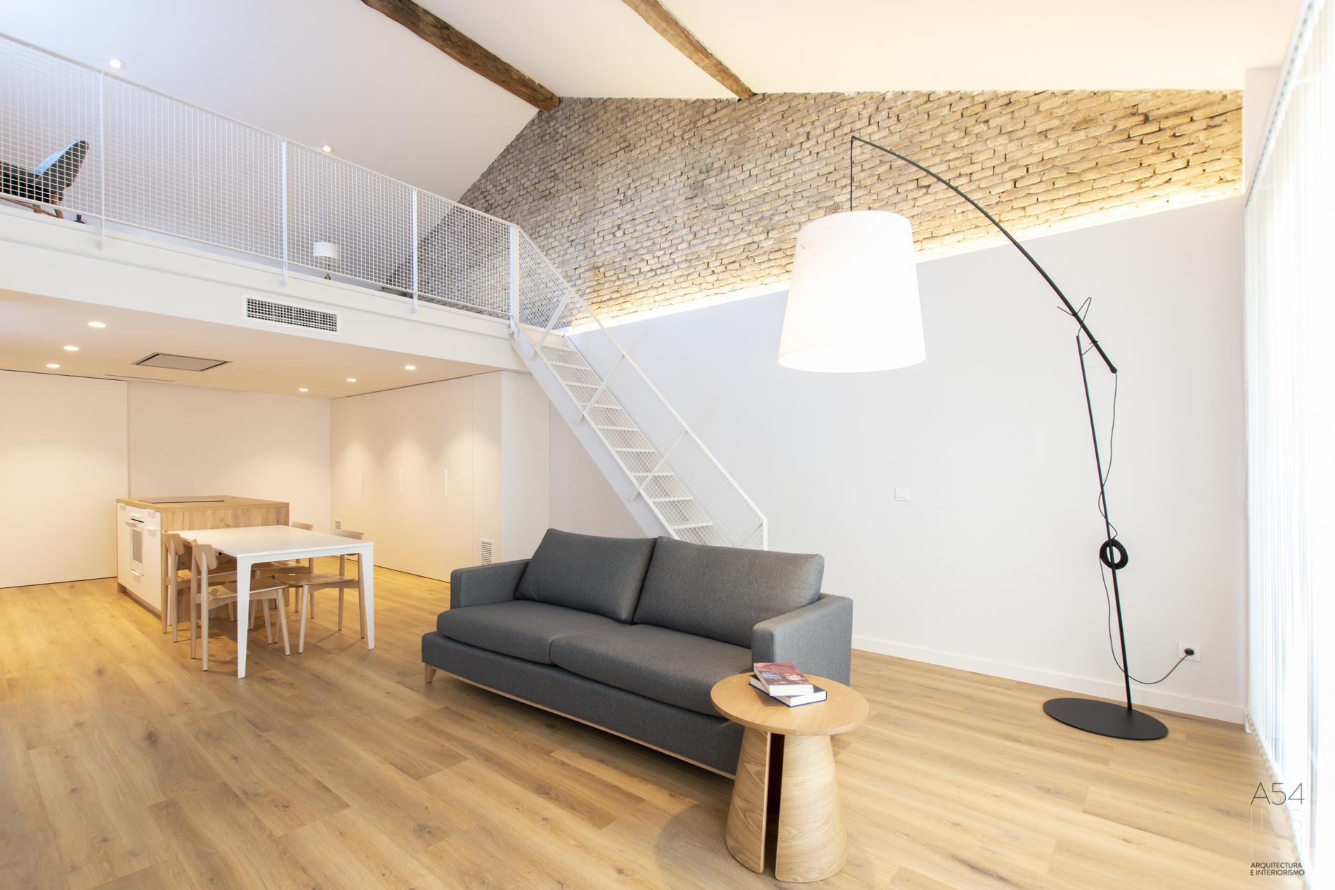 reforma integral en Zaragoza llaves en mano por A54insitu arquitectura y diseño en Zaragoza