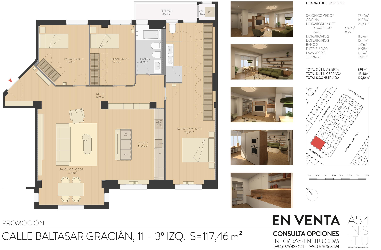 SE VENDE reforma integral en Zaragoza llaves en mano A54insitu arquitectura y diseño Zaragoza