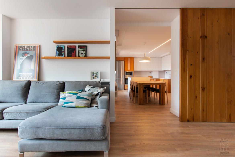 reforma integral en Zaragoza llaves en mano y gestión de compraventa REAL STATE completa realizada por el estudio A54insitu
